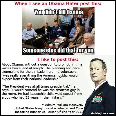 Admiral William McRaven reviews Obama's leadership