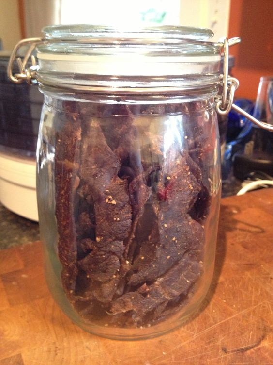 beef jerky marinade 3 lbs lean meat sliced thin 1 tbsp. Black Bedroom Furniture Sets. Home Design Ideas