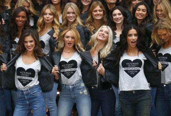 En fotos: Los ángeles de Victoria's Secret deslumbran en Londres