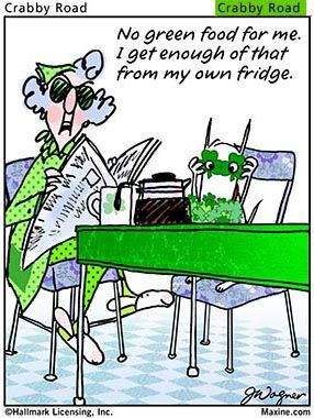 Irish humor and a bit o'blarney from Maxine for Paddy's Day: