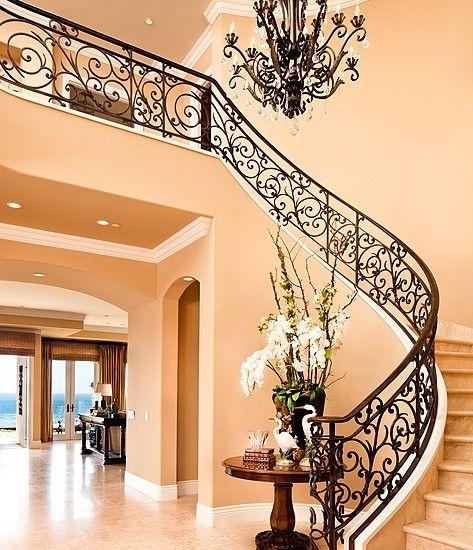 Staircase Design Ideas Remodels Photos: Mediterranean Staircase Design, Pictures, Remodel, Decor
