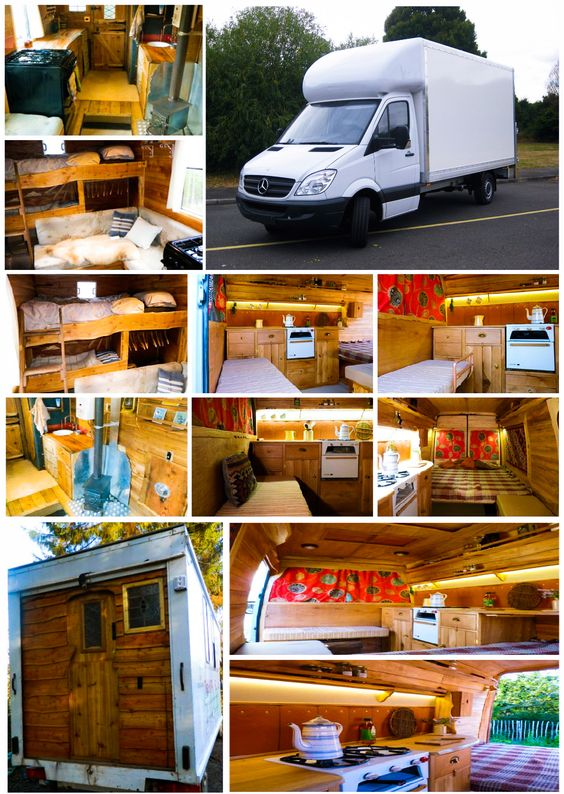 The Mercedes Benz Sprinter Luton Style Camper Van Is Great For A Large Living Space