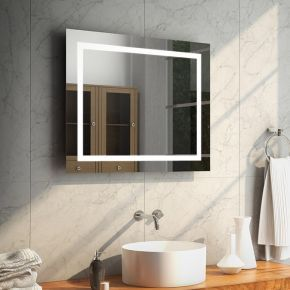 Aurora Wide Led Bathroom Mirror Led Mirror Bathroom Heated Bathroom Mirror Bathroom Mirror