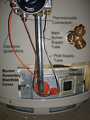 Water Heater Thermocouple or Flame Sensor