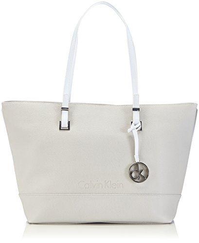 hard to find handbags - Calvin Klein Jeans MELISSA LARGE TOTE, Borsa shopper donna, Grigio ...