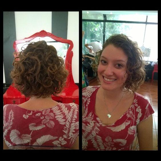 """@marcoanri's photo: """"Corte por @marcoanri em @circushair augusta #curly #bob #cachos #Hair #circushair"""""""