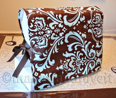 Easy sewing machine cover.