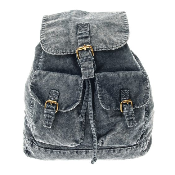 Indigo Denim Backpack