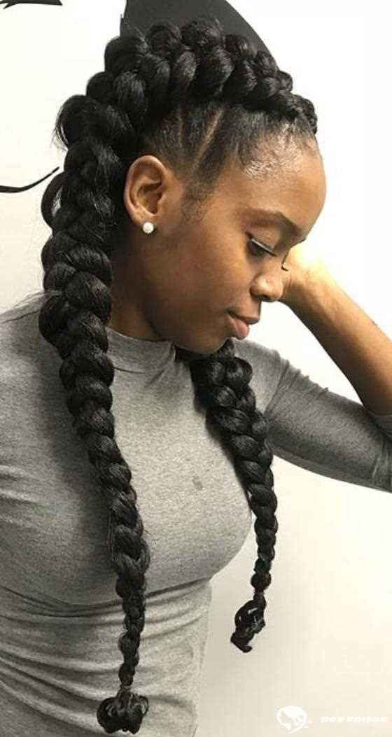 10 Beautiful Ways To Rock A Butterfly Mesh Mody Hair Braided Hairstyles Hair Styles Box Braids Hairstyles