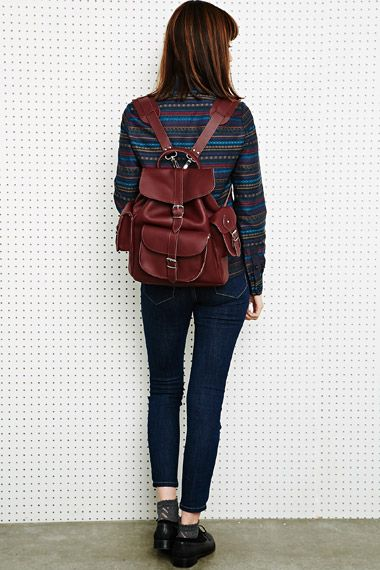 Grafea Leather Backpack - Backpack Her
