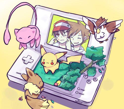 pikachu, mew, eevee, pidgey