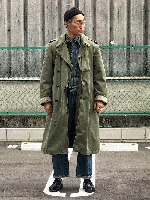 Lee|ミリタリージャケットを使ったコーディネート