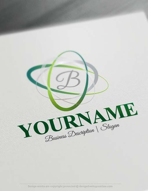 Free Logo Maker Alphabet Template Brand Your Company With Creative Designs Make Own Ready Made Online Logos