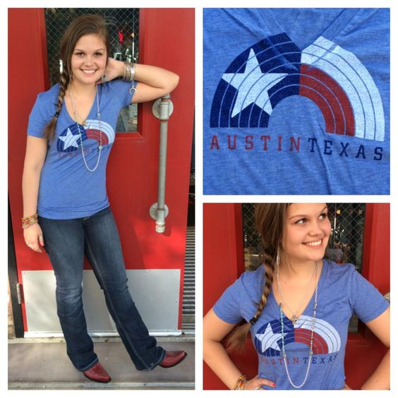 **NEW** Our #Austin #Texas tee's are #awesome! #sothread #style #atx — at Southern Thread @ The Domain.