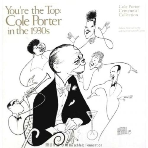 "Cole Porter ""You're The Top"" by Al Hirschfeld"