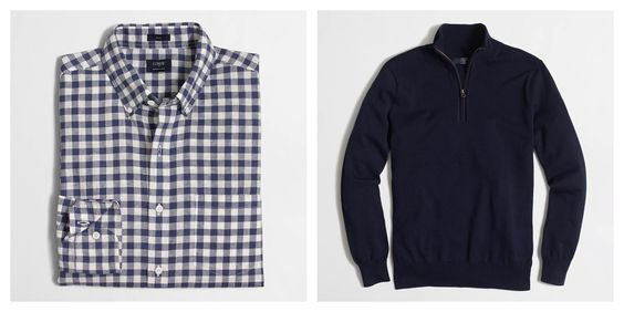 Chances are your hubs' wardrobe could use some TLC right about now. I love these pieces from #J.CrewFactory - Meghan #TangerMom #TangerOnTheGo Blog: http://tangeronthego.tangeroutlet.com/