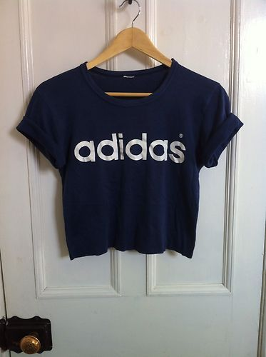 Adidas Crop Tops And Blue Blouse On Pinterest