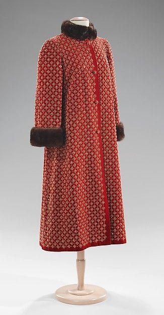 Norman Norell | Evening coat 1957