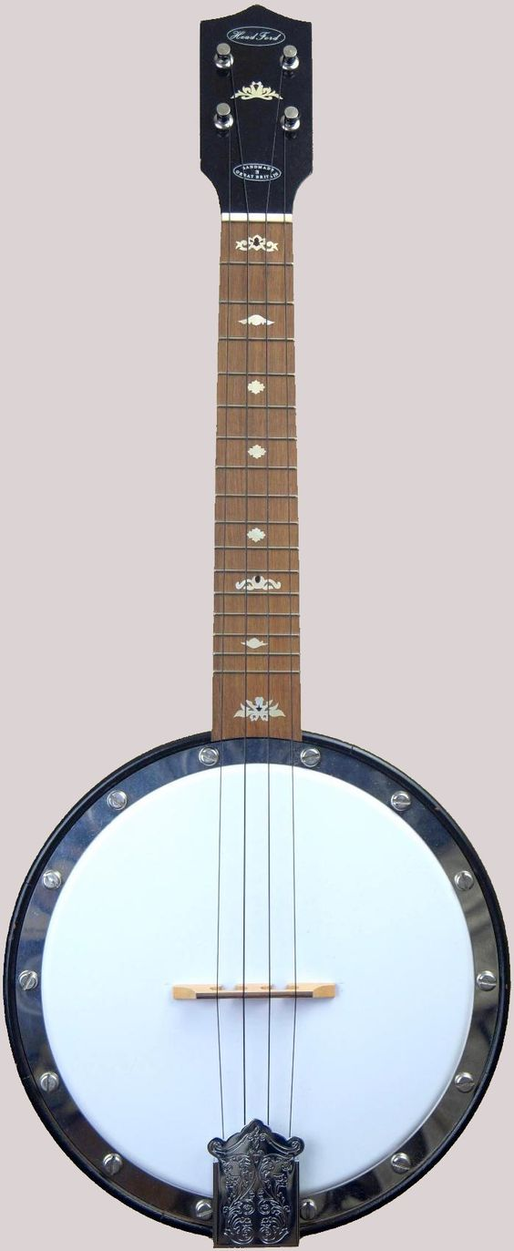 Bob Headford bracketless Banjolele