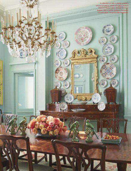 13 Glamorous Texas Rooms Veranda Magazine Mint Green