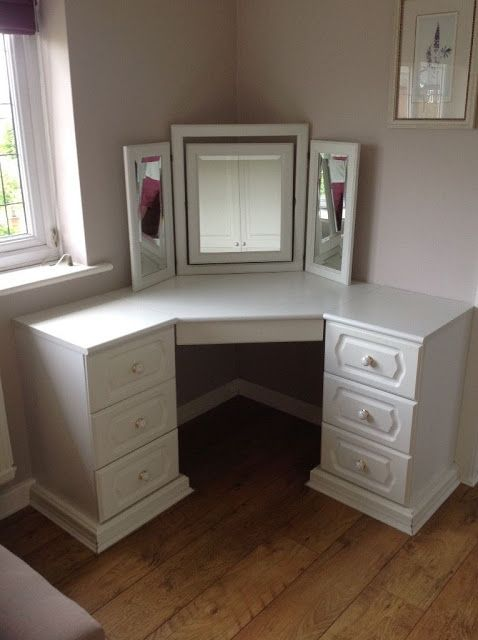 Corner Dressing Table Designs And Ideas Corner Dressing Table Dressing Table Design Corner Vanity