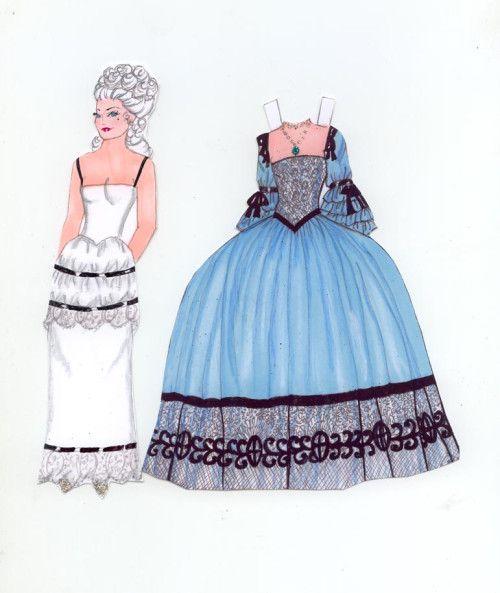 Marie Antoinette dress by Pat O'Rourke