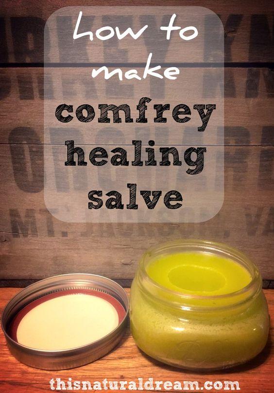 how-to-make-comfrey-healing-salve