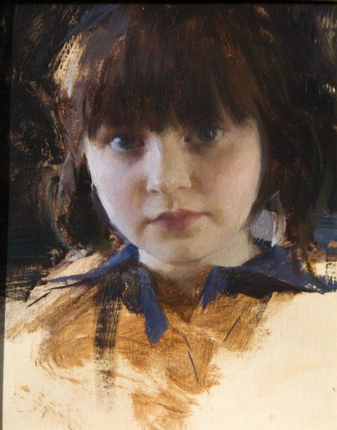 Skylar At Five Jeremy Lipking
