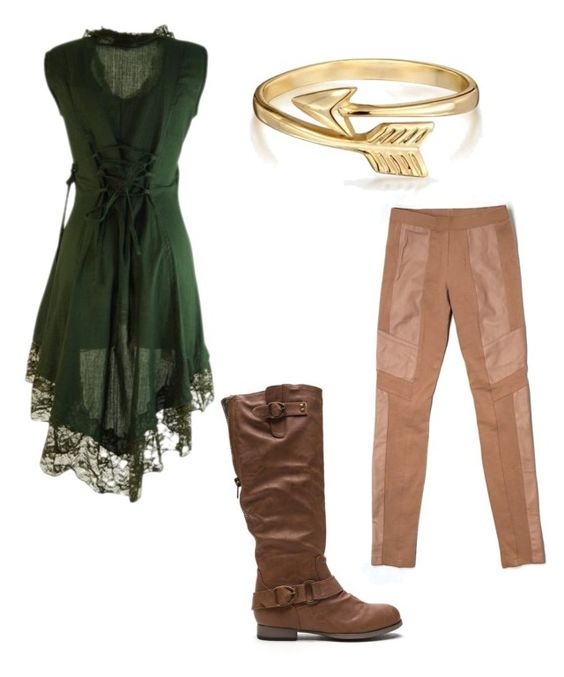"""tauriel"" by liniki on Polyvore featuring BCBGMAXAZRIA and Bling Jewelry"