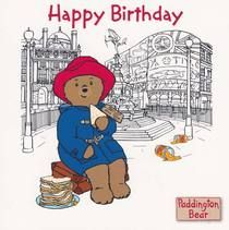 Paddington Bear - Happy Birthday Card: