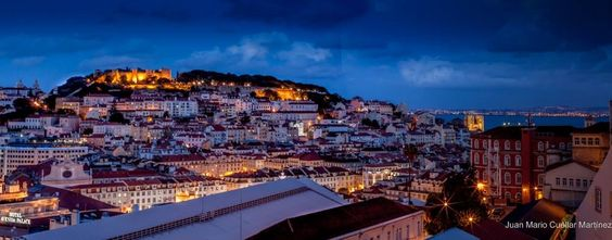 Atardecer en en Lisboa. Portugal
