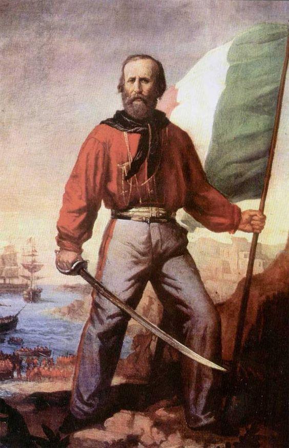 Resultado de imagem para Giuseppe Garibaldi