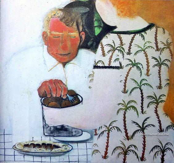 Лубенников �ван Леонидович (1951) «Картошечка, селёдочка» 1987