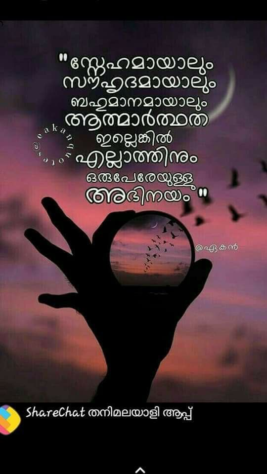 Pin By Haritha Akhi On മലയ ള ച ന തകൾ Emotional Quotes Malayalam Quotes She Quotes