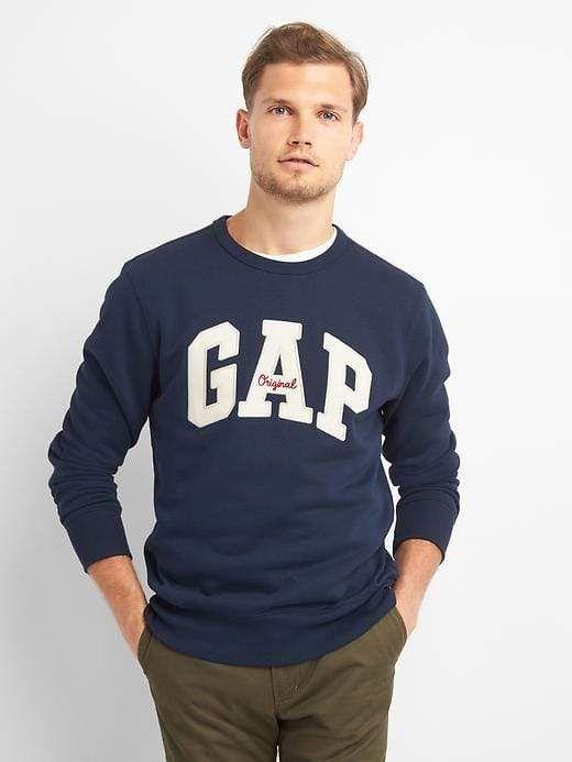 Mens Crew Neck Sweatshirt Top Pullover Jumper Casual Plain Jersey Fleece Sweat