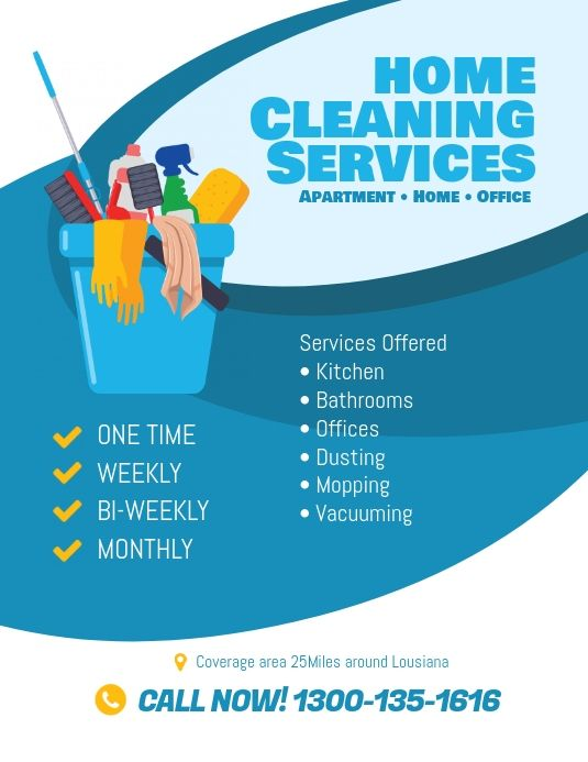 Cleaning Services Flyer Template Cleaning Service Flyer Cleaning Business Cards Cleaning Flyers