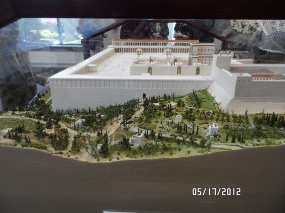 model of ancient temple in jerusalem   patterson ny bethel
