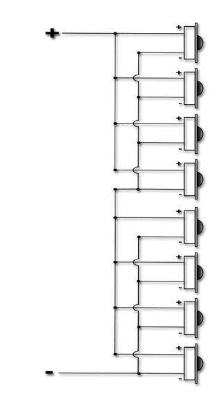 Build The Mini Line Array Car Audio Woofer Speaker Subwoofer Wiring