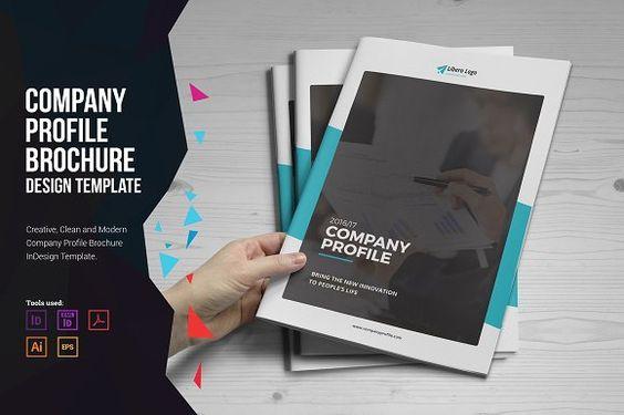 Company Profile Brochure Company profile, Brochures and Brochure - company profile free template