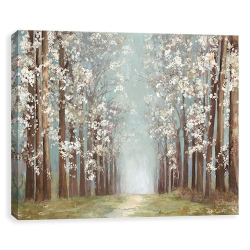 Artissimo Designs Apple Orchard Canvas Wall Art Nature Canvas Painting Wall Canvas Canvas Wall Art