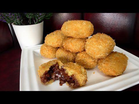 Pisang Coklat Lumer 5 Bahan Lagi Viral Youtube Ide Makanan Makanan Resep Makanan