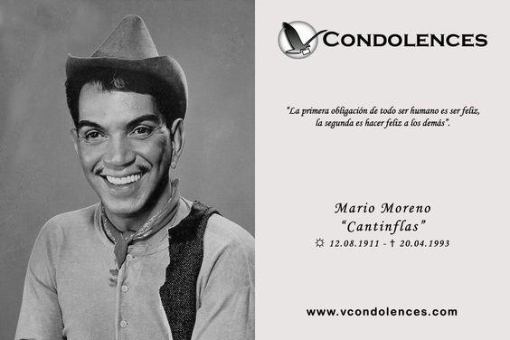 """Mario Moreno """"Cantinflas"""" - Comediante y Actor Mexicano"""