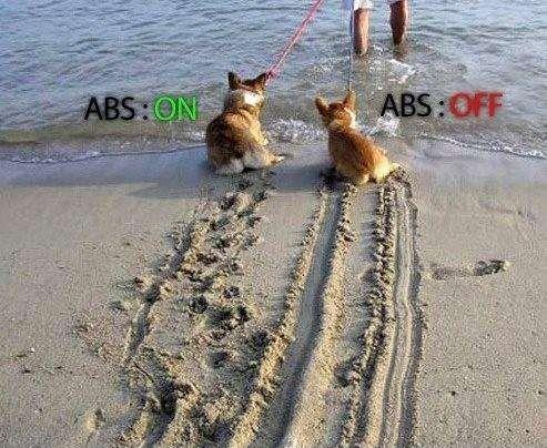 ABS Braking Illustrated
