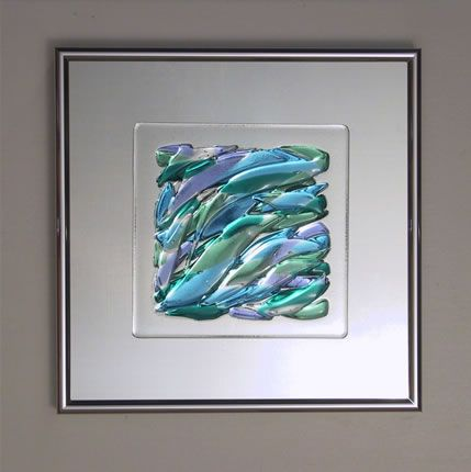 Fused glass art