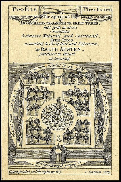 Spiritual Use of an Orchard Garden of Fruit Trees (titlepage) 1653   Flickr - Photo Sharing!