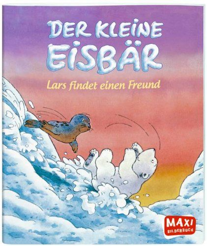 Der kleine Eisbär - Lars findet einen Freund von Hans de Beer http://www.amazon.de/dp/3770775120/ref=cm_sw_r_pi_dp_H0Hfub13YQTZ2