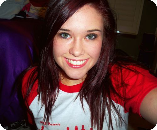 Dark Maroon Hair