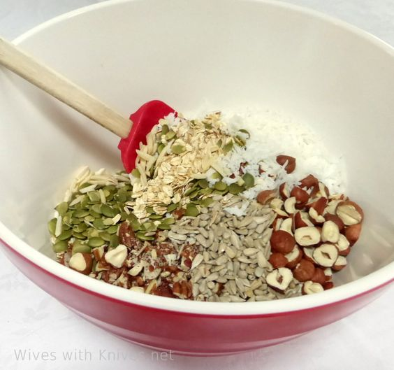 Homemade Granola as easy as 1-2-3 | Wives with Knives