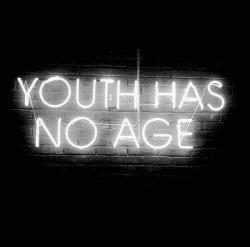 Imagen de youth, quote, and age