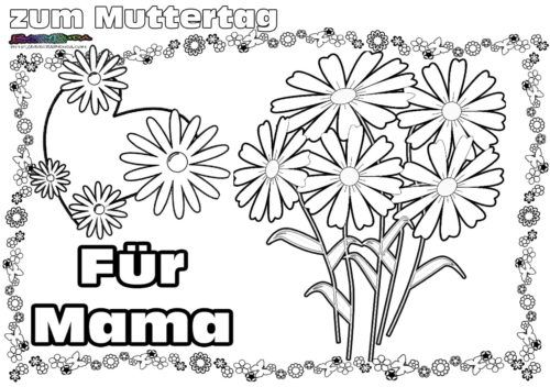 Muttertag Ausmalbild Malvorlage Gruss Mit Herz Babyduda Malbuch Muttertag Geschenke Basteln Muttertag Muttertag Malvorlagen